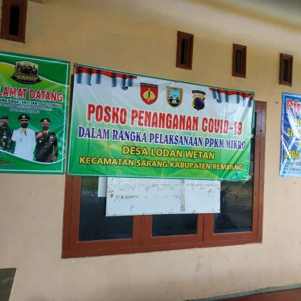 Program Jogo Tonggo di Desa Lodan Wetan Berjalan dengan Baik